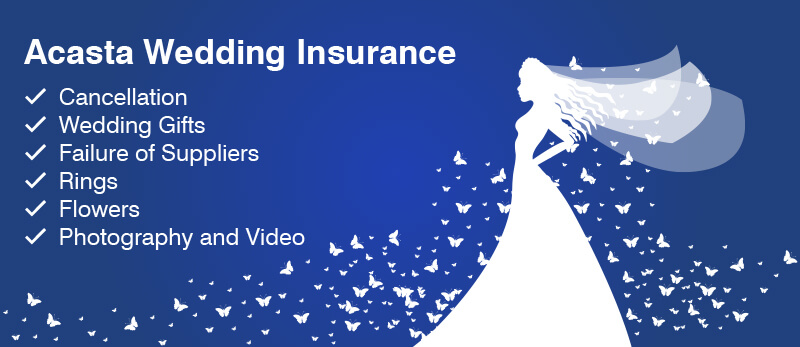 Wedding Insurance Packages Acasta Europe Limited